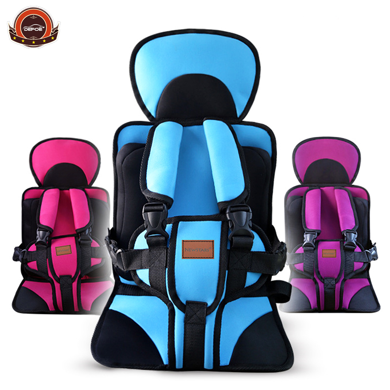 New design best children car safety seat belt Baby seat belt car safety chair Simple portable seats 0-8 years MAX 30KG freeship