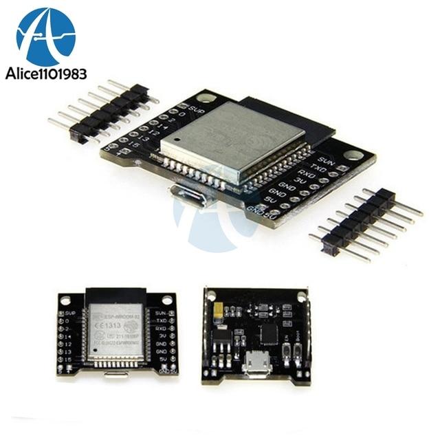 ESP32 ESP-WROOM-32 for Wemos Development Board WiFi Module + Bluetooth Ultra-Low Dual Core Mode ESP-32 ESP-32S Similar ESP8266