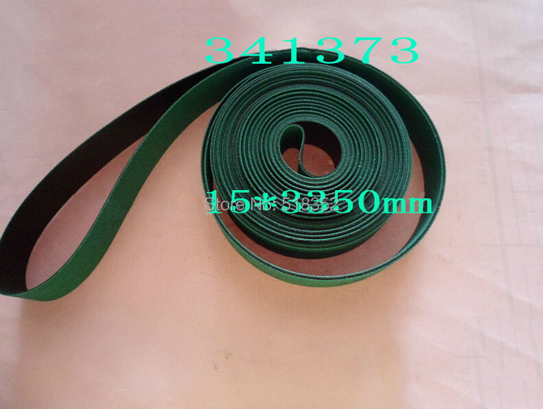341373 Charmilles Belt 15 x 3350 mm Green ( with one side black), Wire EDM Machine Spare Parts 200440864 charmilles belt 15 x 3030mm green with one side black wire edm low speed machine spare parts