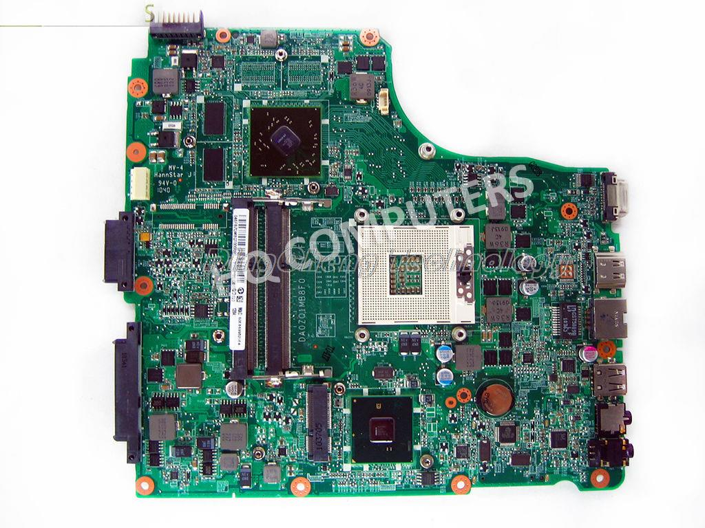 SHELI laptop Motherboard For Acer 4820 4820TG MBPSG06001 MB.PSG06.001 DA0ZQ1MB8F0 non-integrated graphics card fully tested
