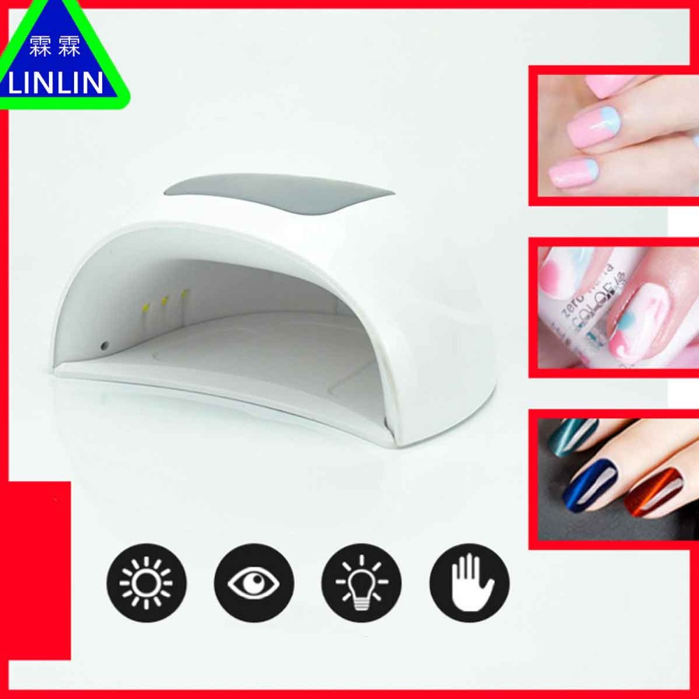 LINLIN New SUN X20 phototherapy lamp 48W high efficiency intelligent induction nail lamp fast nail polish