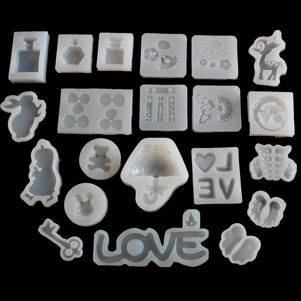 1PC Snowflower Shaped Liquid Silicon UV Resin Mold For Making Jewerly Earrings Hair Accessories Jewelry Tools