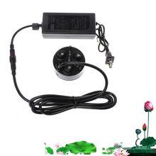 3 Head Mist Maker Atomizer Ultrasonic Air Humidifier Fogger Nebulizer EU Plug цена 2017