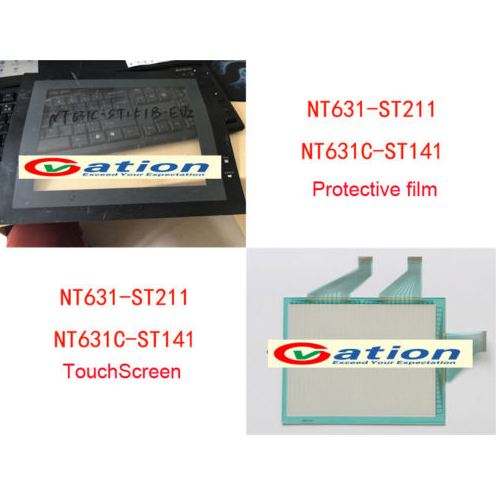 New  NT631C-ST141/ST141B-V2/EV2/EKV1Touch Screen Glass + Protective filmNew  NT631C-ST141/ST141B-V2/EV2/EKV1Touch Screen Glass + Protective film
