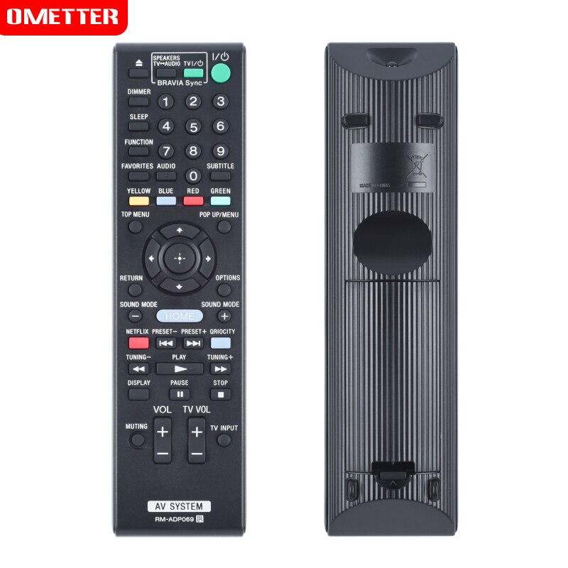 Novo qualidade RM-ADP069 controle remoto para sony sistema av controle remoto RM-ADP076 RM-ADP074 RM-ADP072 RM-ADP059