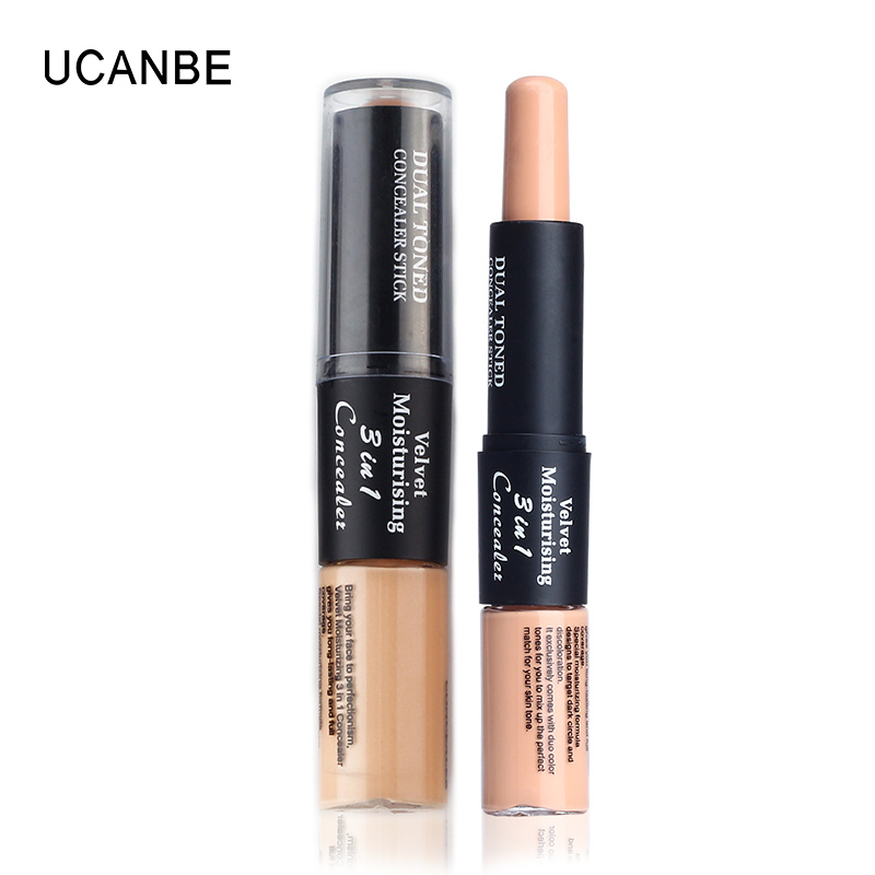 6 Colors Kiss Beauty Velvet 2 In 1 Creamy Concealer Dual