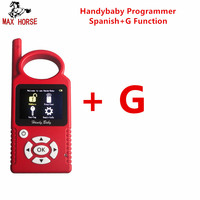 Hot multi language Spanish version CBAY handy baby plus G Chip Copy Function Authorization key programmer for 4D/46/48 Chips