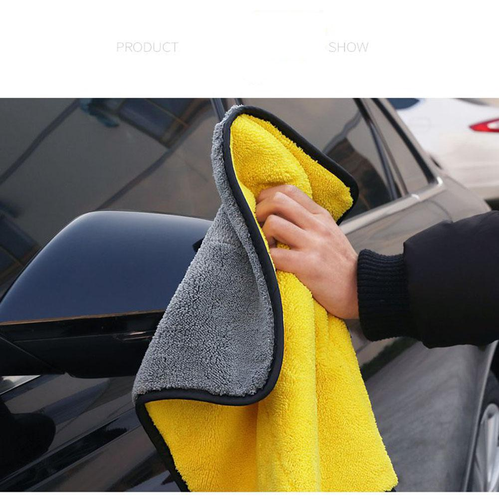 LumiParty Super Absorbent Car Wash Towel Soft Car Cleaning Drying Towel High Quality  Car Wash Towel Strong Durability R30