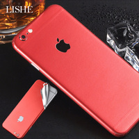 Durable PVC Phone Stickers For iPhone 8 6 6S 7 Plus Back Protector Films Decal For iPhone XS X Sticker Adhesive Pegatinas Skin