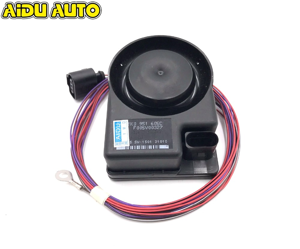 Car Security Alarm Siren Speaker Horn FOR VW Jetta Golf MK5 MK6 Passat B6 Touareg koda