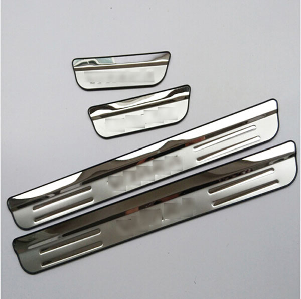 Door Sill Strip Suzuki Vitara 2015 Automobile Welcome Pedal Trim Car Styling Stickers Accessories  -  The Home store