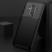 Ikrsses Case For Huawei Mate 10 Pro Case Luxury Carbon Fiber Ultra Thin Silicone Soft TPU Case for Huawei Mate 10 Pro Phone cover case for huawei mate 10 pro soft carbon fiber luxury tpu