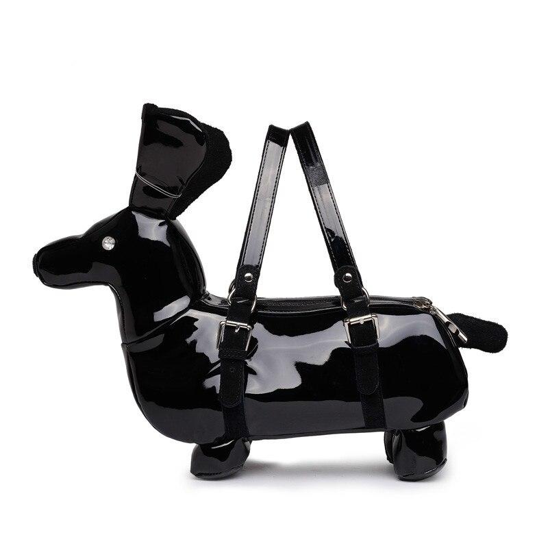 Brand High Quality Fashion Cute Dog Shape Handbag Dachshund Las Novety Shoulder Bag In Bags From Luggage On