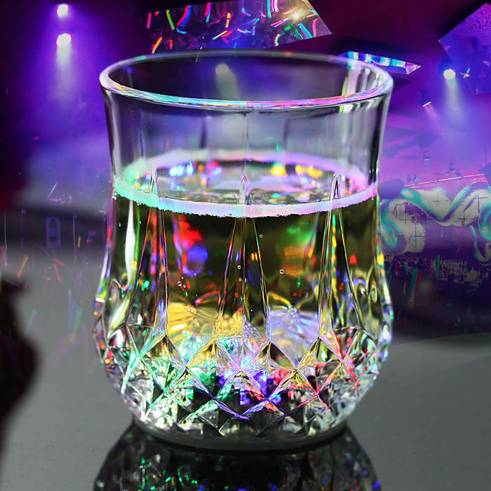 Strong-Willed Led Automatic Flashing Cup Light Up Mug Wine Beer Glass Whisky Shot Drink Cup For Christmas,party,bar Club,birthday Do You Want To Buy Some Chinese Native Produce? Glow Party Supplies