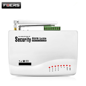Image 5 - FUERS Russian English Voice Wired GSM Alarm System Dual Antenna GSM Home Alarm Security App Control Protection Auto Dial DIY