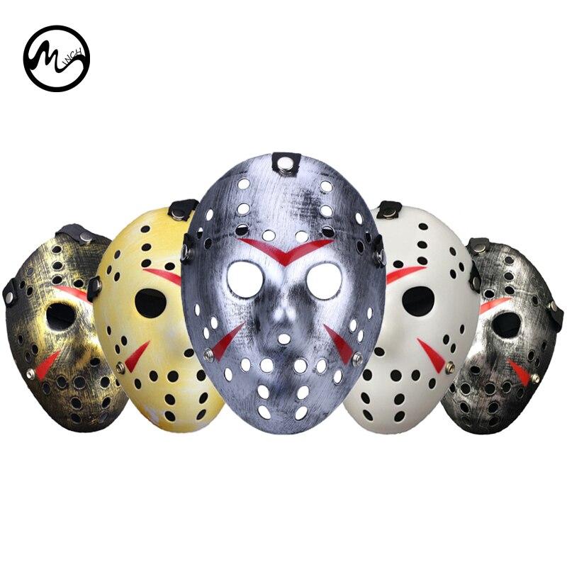 Минч Хэллоуин маскарад маска ужасно Маски для век Джейсон против пятница 13th ужас Косплэй костюм ...