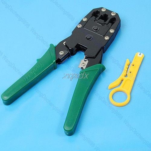 RJ45 RJ11 RJ12 CAT5 Network Cable Crimper Pliers Tools Whosale&Dropship