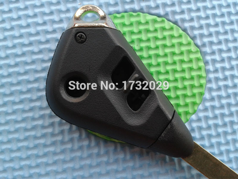KeylessOption Keyless Entry Remote Uncut Key Case Fob Shell for Subaru Outback Legacy High Security CWTWBU766 CWTWBU811