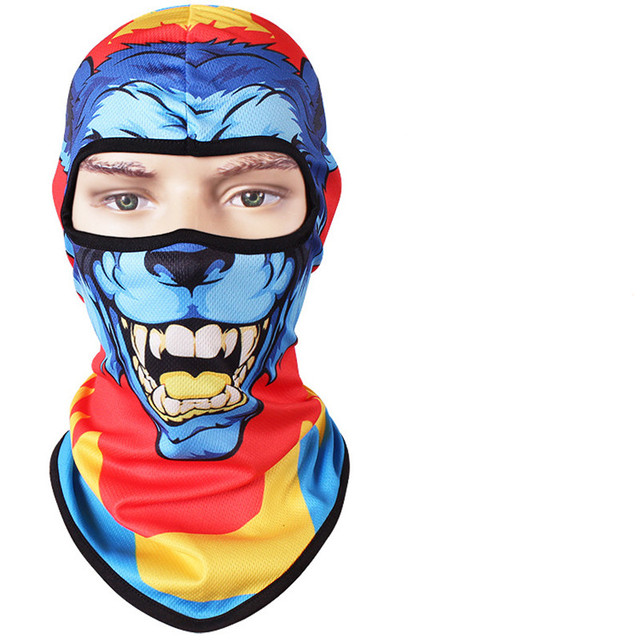Full Face Mask full Winter Warm Face Mask Motorcycle Scarf Head Windproof Sunscreen 3D Cs Caps Animal Cycling Hiking Skiing Mask 5