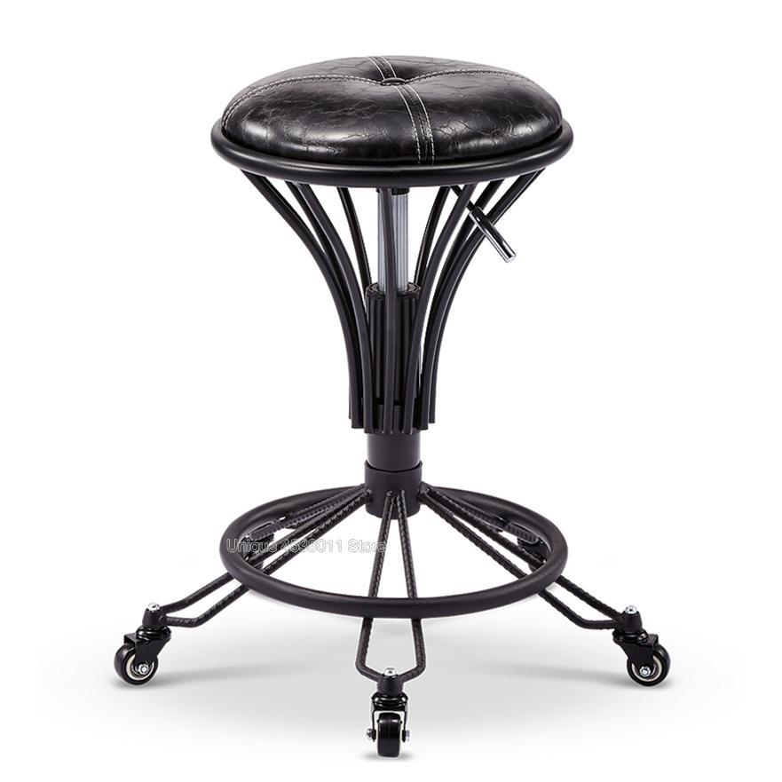 Friseurstuhl.. Stilvolle Minimalistischen Friseur Stuhl Hydraulische Stuhl Guest Chair 001