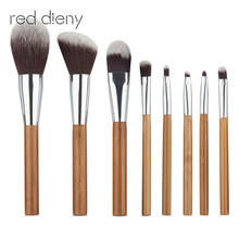 8pcs Foundation Powder Blush Makeup Brus