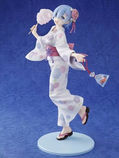Re Life in a different world from zero kimono Rem Sexy girls Anime PVC Action Figures toys Anime Figurine Diorama
