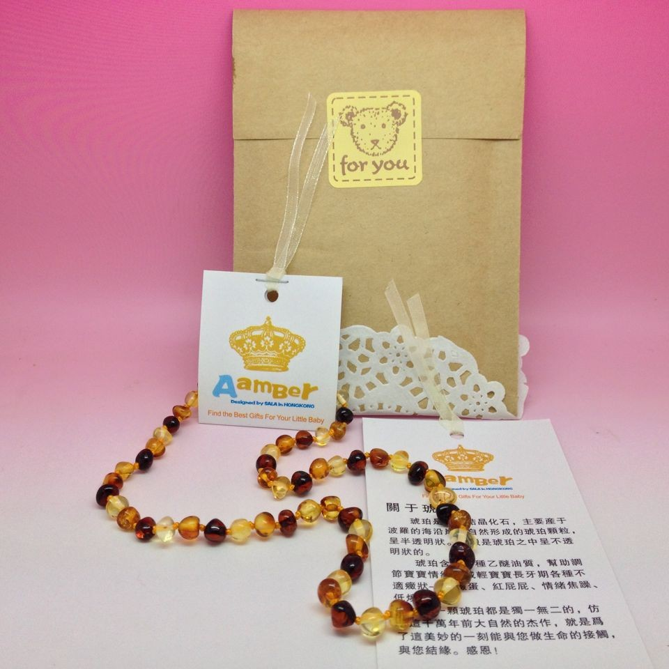 HTB1FZwJmamgSKJjSsphq6Ay1VXaB Yoowei Wholesale Natural Baltic Amber Necklace for Baby Adult 100% Real Irregular Baroque Amber Original Amber Baby Chip Jewelry