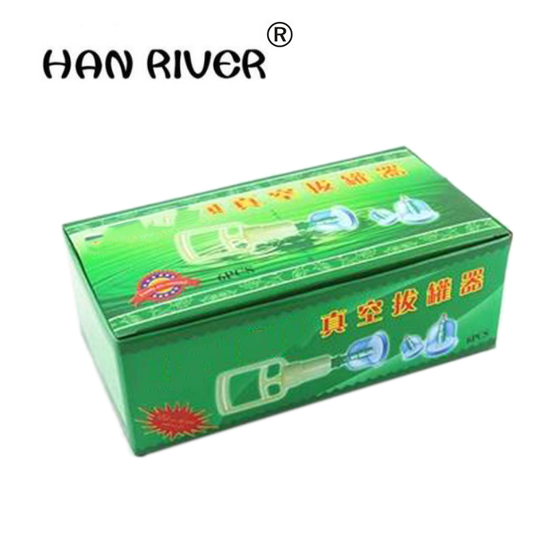 HANRIVER 6 vacuum cupping meridian massage cupping device, massager massager health