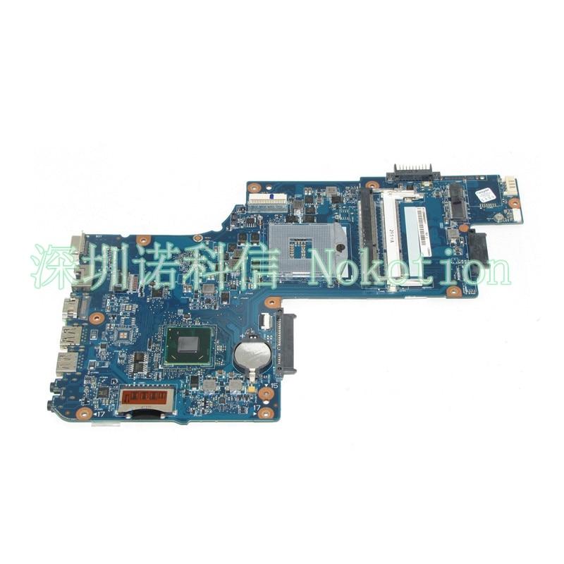 NOKOTION H000052360 Laptop motherboard For Toshiba Satellite C850 L850 DDR3 SLJ8C HM76 DDR3 Mainboard nokotion a000075380 laptop motherboard for toshiba satellite l655 l650 31bl6mb0000 da0bl6mb6g1 intel hm55 ddr3