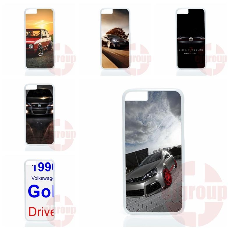 accessories Hard Skin VW Golf Silhouette Volkswagens For Samsung Galaxy Note 2 3 4 5 edge lite A3 A5 A7 A8 A9 E5 E7 2016