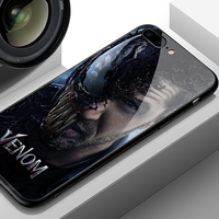 Venom Glass Style Phone Case for iPhone (12 Different Designs) 5