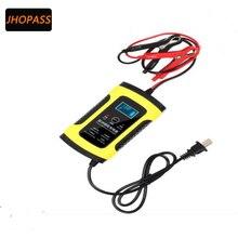 12 V 6A Moto/Carro LCD reparação inteligente bateria de chumbo ácido carregador de bateria para 2AH-100AH