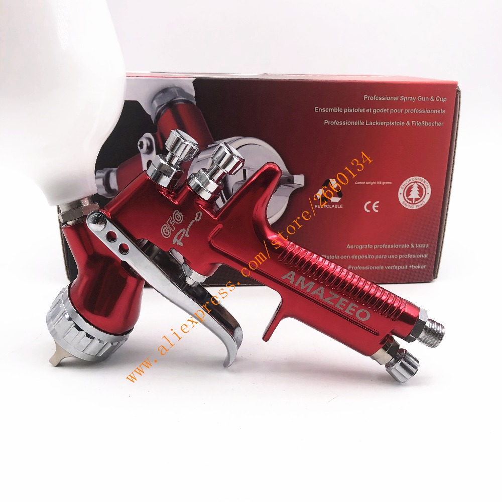 Wholesale and retail professional GFG pro spray gun HVLP car paint gun painted car spray paint