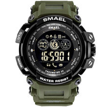 SMAEL Fashion Luxury Smart Men Watch Waterproof Bluetooth Sport Wrist Watch Android IOS Phone Mens Clock reloj inteligente mujer(China)