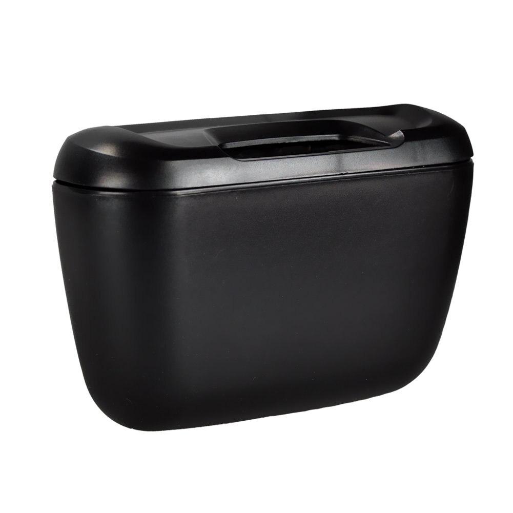 hghoblack tone plastic compact trash can garbage bin for car autochina