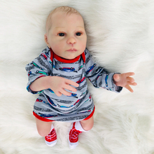Exquisite Handmade silicone reborn baby dolls 46cm realistic newborn babies alive doll bebes reborn toy dolls gift