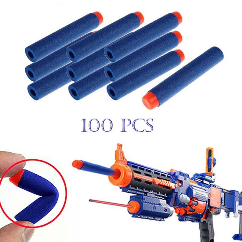 100Pcs airsoft pistol Toy Gun Bullets Air Hole Foam gun toys outdoor fun sports & entertainment airsoft air guns Toy sports