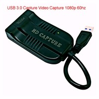 USB 3.0 Capture HD to USB3.0 Video Capture Dongle HD 1080P HD Drive Free Superior AV Capture Device For PS3 For XBo