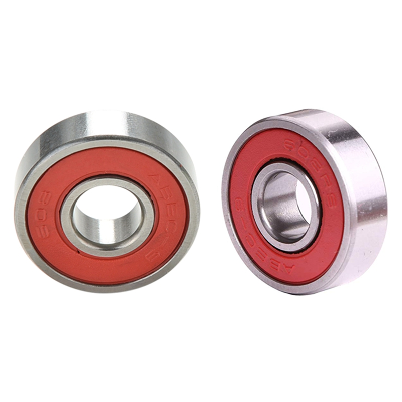 1Bag/10PCS 608zz Skating Rolling Skateboard Longboard Wheel Skate Bearings Roller ABEC-9 ABEC-7 For Skate Shoes Scooter