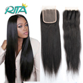 7A Virgin Brazilian Closure Natural Color Brazilian Straight Lace Closure Hair Top Quality Virgin Human Hair Closure Product