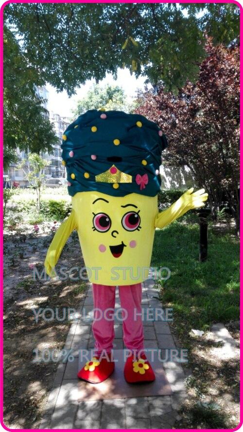 cupcake icecream mascot costume custom fancy costume anime cosplay kits mascotte fancy dress carnival costume 41249