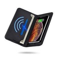 8000mah wireless wallet bag Mobile phone power bank Multifunction External Battery PowerBank for Xiaomi mi9 iphone 7 8