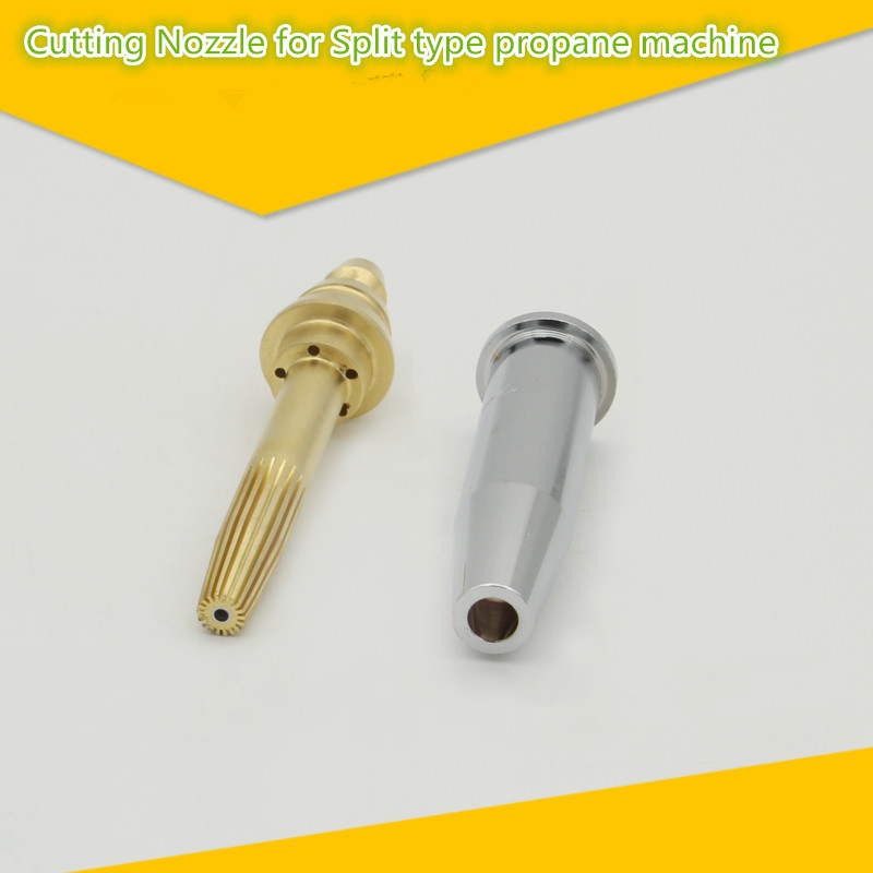 G03 Propane Gas Cutting Nozzle Isobaric for Cutting Torch Flame Cutting Machine Length 9 cm//3.5 in 4 Type 3#
