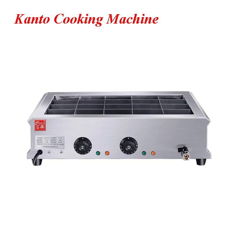 Commercial Stainless Steel Electric Hot Oden Machine 20 Grid Boiled Meat Machine East Cooking Machine EH-20ACommercial Stainless Steel Electric Hot Oden Machine 20 Grid Boiled Meat Machine East Cooking Machine EH-20A