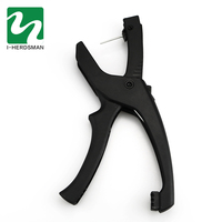 Practical Cattle Livestock Metal sheep pig Goat Ear Tag Animal Tool Plier Forcep Applicator