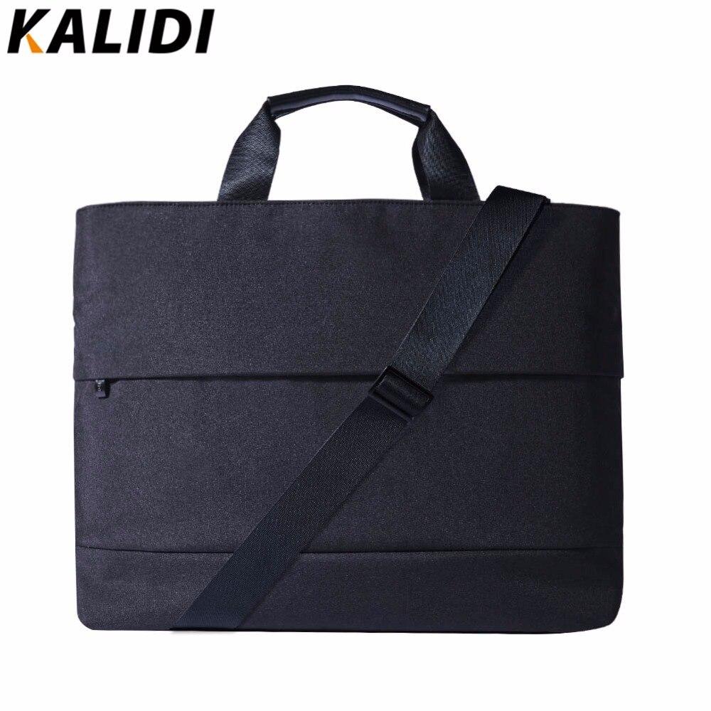 71fe261ea76 KALIDI Men Waterproof Shoulder Bag Canvas Messenger Bags High Quality  Unisex School Bag Casual Laptop Bag for 13.3-15.6 inch