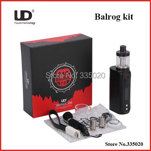 Original Youde UD Balrog 70w TC Starter Kit with 3ml Balrog Tank and 70W TC/VW Mod