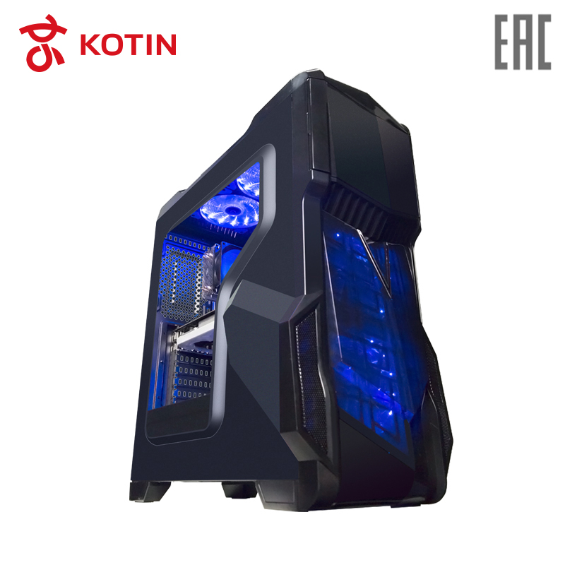 Gaming Desktop KOTIN GB-1 i5-8500 / 8G / 180G SSD+1T / GTX1050Ti-4G / Fans Cooling / Dos getworth s6 office desktop computer free keyboard and mouse intel i5 8500 180g ssd 8g ram 230w psu b360 motherboard win10