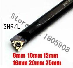 SNR0007J08 SNR0008K11 SNR0008K11 SNR0010K11 SNR0012M11 SNR0016Q16 SNR0020R16 SNR0025S16 CNC gwint wewnętrzny toczenie narzędzie pręt w Narzędzia tokarskie od Narzędzia na