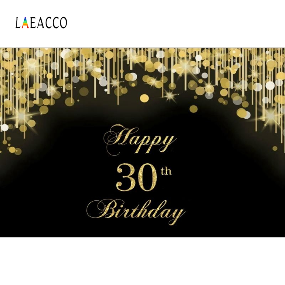 Laeacco 30th Birthday Party Goblet Women Backdrop Photography Backgrounds Customized Photographic Backdrops For Photo Studio in Background from Consumer Electronics
